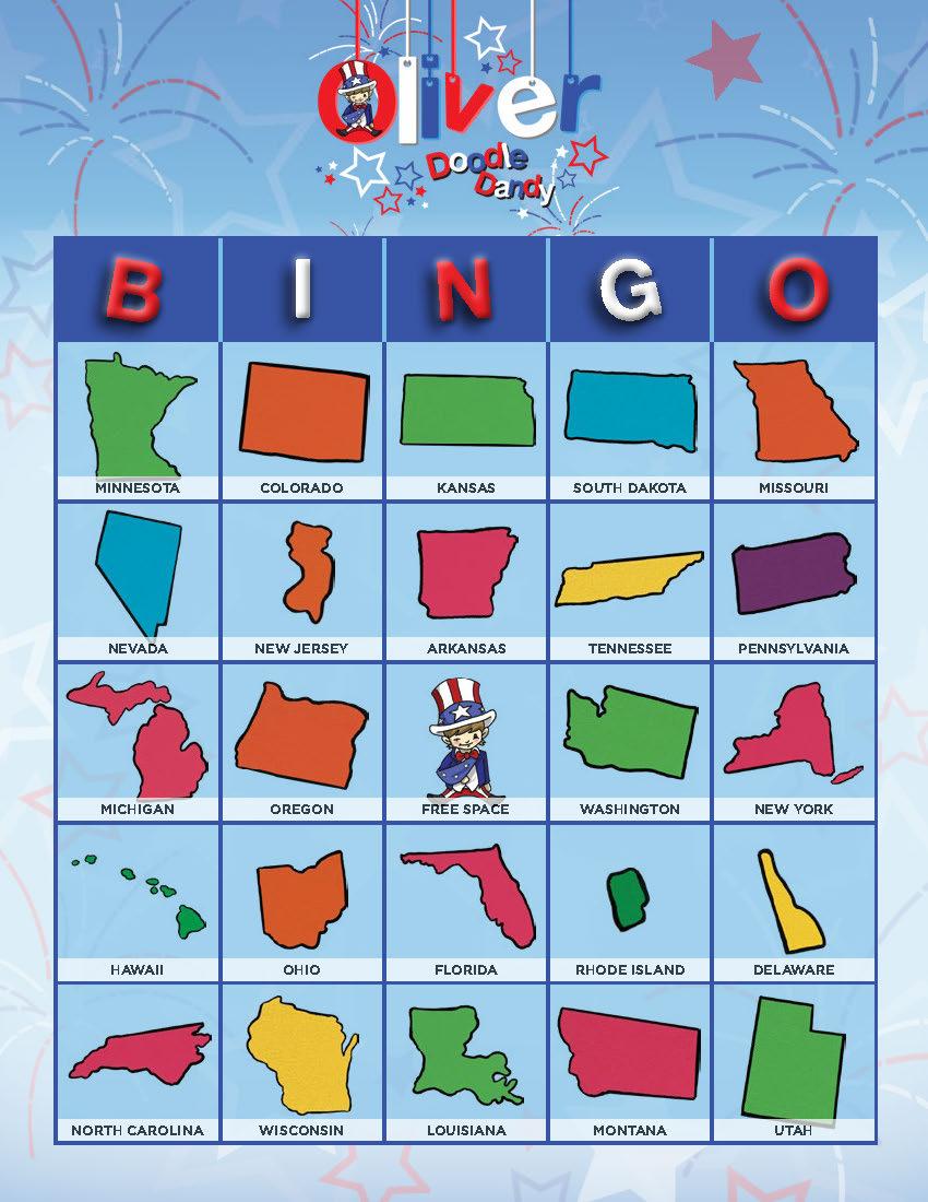 50 States Beginner